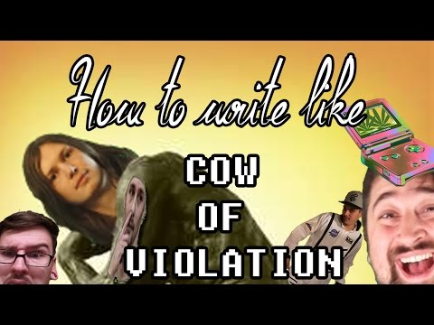 How to Write Like - Vow of Volition