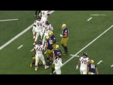 Football vs Notre Dame - Highlights