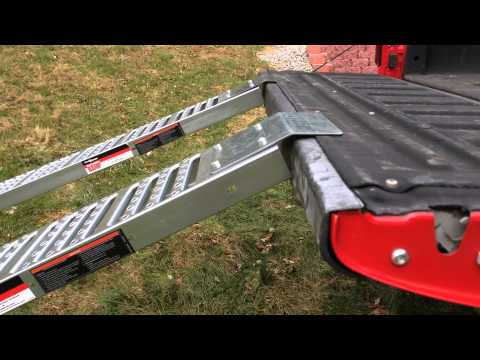 Harbor Freight loading ramps part 2