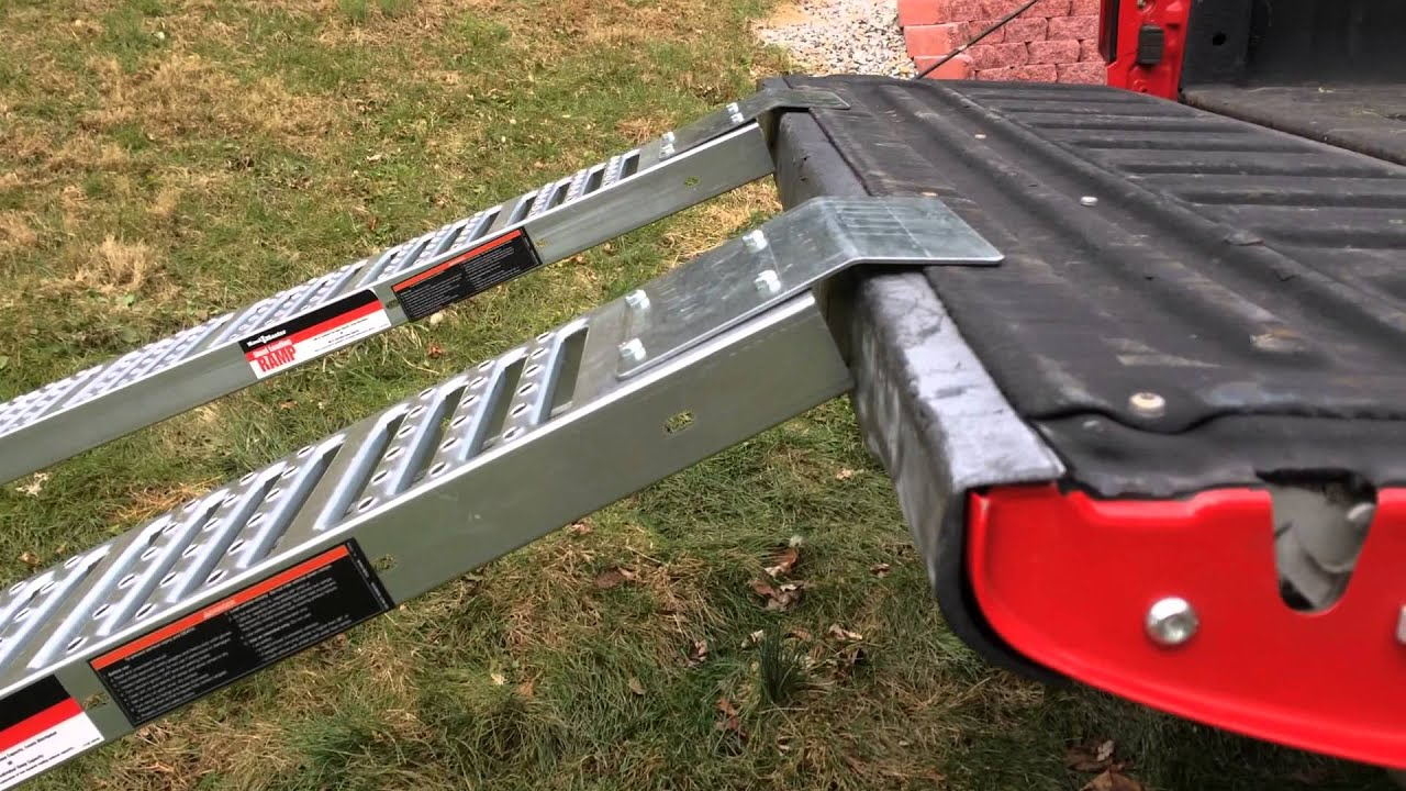 93 Motorcycle Ramps Harbor Freight Click Image For