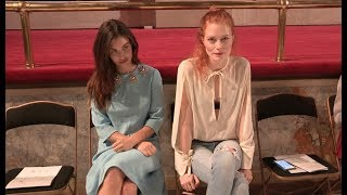 Rainey Qualley, Elisabeth von Thurn und Taxis and more at Creatures of the Wind Show