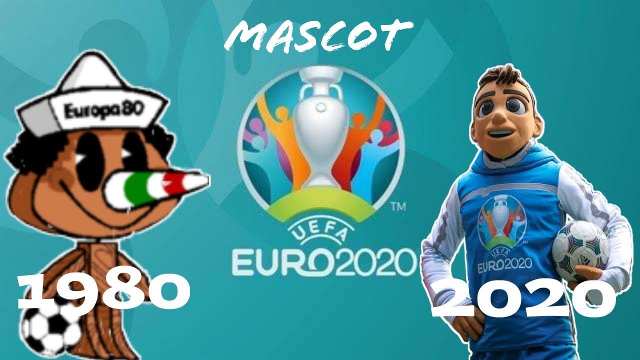 Download The Evolution Of UEFA EURO Mascot ll 1980 - 2018 ll