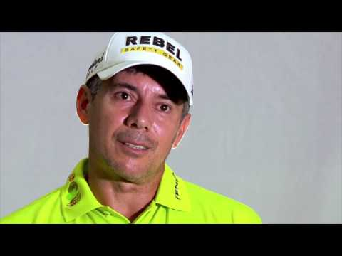 Top-ranked Brazilian golfer Adilson da Silva looks ahead to Rio 2016