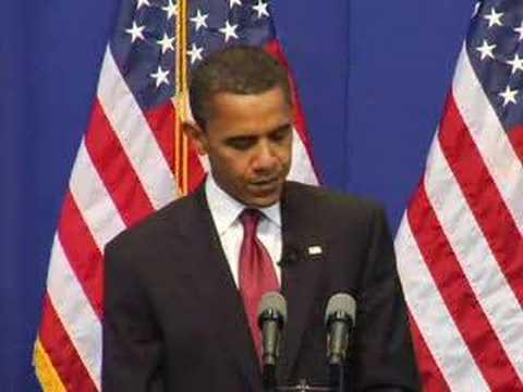 Barack Obama Visits Carnegie Mellon