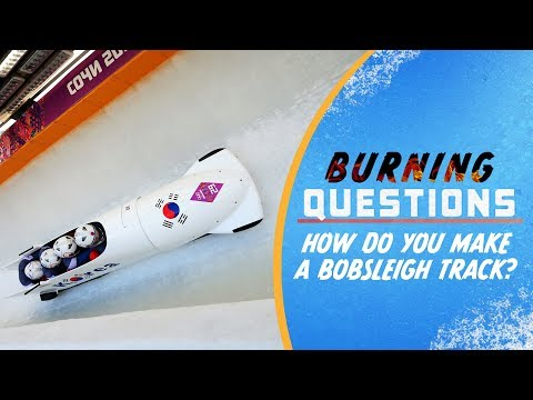 How do you make a Bobsleigh track? | Burning Questions