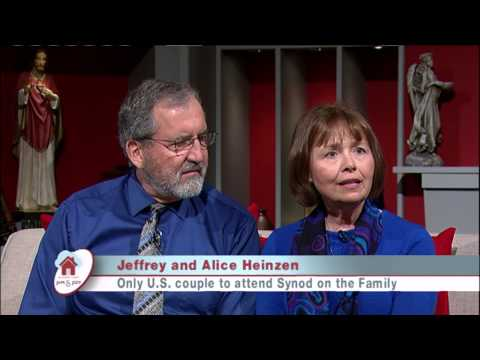 At Home with Jim & Joy - 2015.3.26 - Jeffery and Alice Heinze