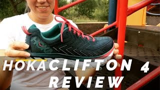 HOKA ONE ONE CLIFTON 4 REVIEW