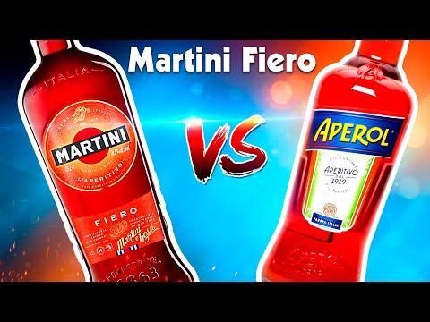 Martini Fiero Обзор и сравнение с Aperol