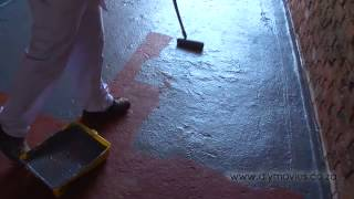 Painting a Concrete Floor - PRO TIPS