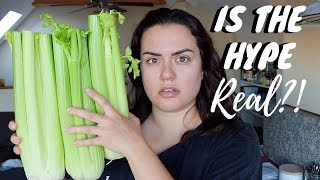 I Drank Celery Juice For 7 DAYS and This is What Happened - NO JUICER REQUIRED!