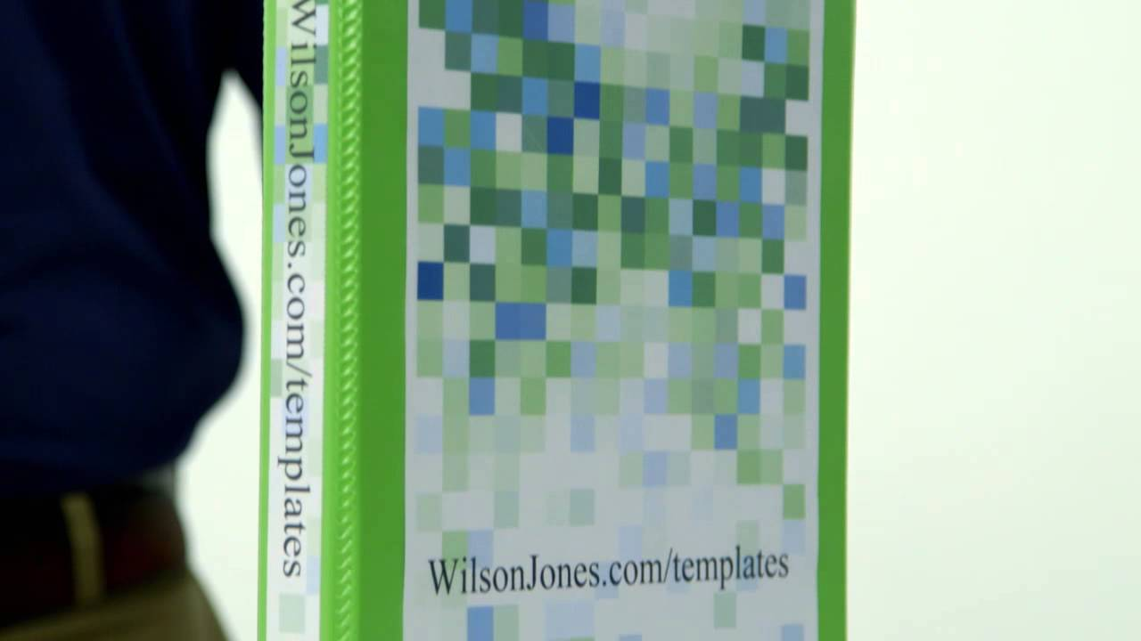 Wilson Jones® Ultra Duty View Binders, D-Rings - YouTube