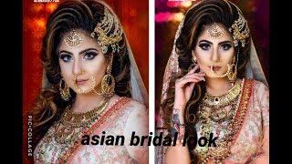 Asian Bridal Makeup New Look Anurag makeup mantra