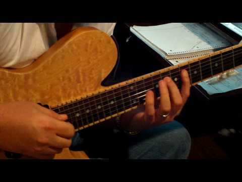 Holdsworthian Legato Guitar Lesson with Marshall Harrison: part I
