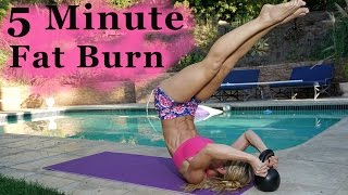 5 Minute Fat Burning Workout #82