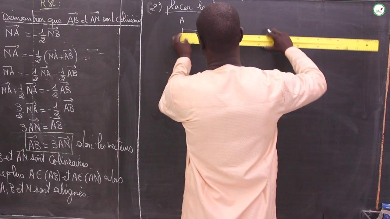 Exercices Seconde S Mathematiques Synthese Calcul Dans R Et Intervalles Dans R Vectorielle S5 Youtube