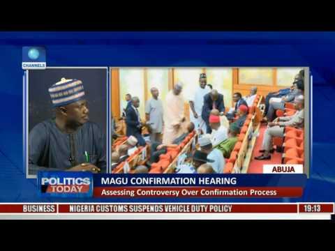 Politics Today: Decision On Magu Based On DSS Report--Sabi Abdullahi Pt.1