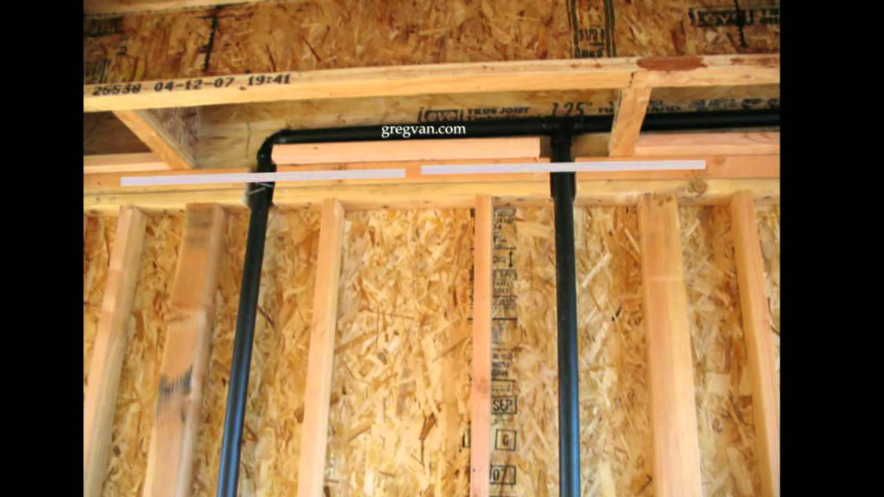 Pipe Notches and Top Plate Straps  Plumbing and Framing