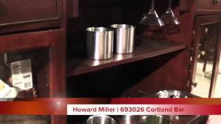 Howard Miller Wine And Bar Cabinet | 693026 Cortland Bar