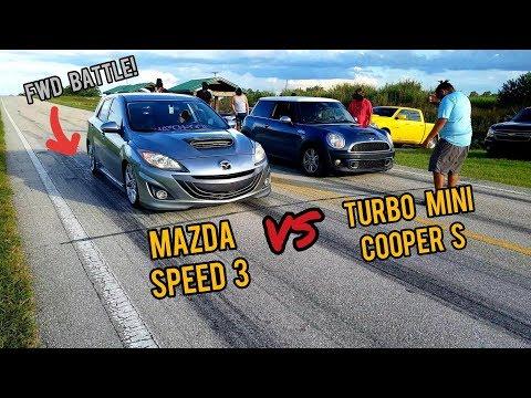 Turbo Mini Cooper S vs Mazda Speed 3