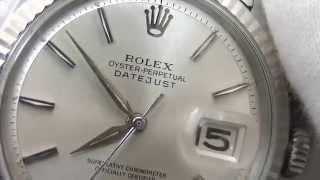 r573 ロレックス デイトジャスト ref 1601 シルバーダイアル 1964年 sir 99xxxx