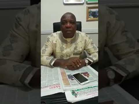Dipo Anisulowo Debunks Rumour Of His Resignation As Fayose's Chief Of Staff (Watch Video)
