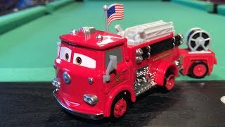 Mattel Disney Cars 2017 Road Trip Red & Wagon (Opening Feature) Die-cast Review