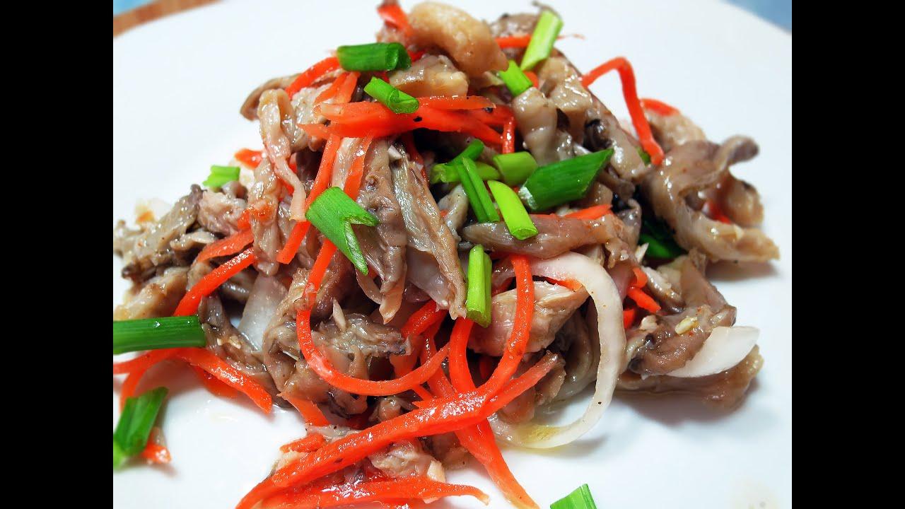 Салаты по корейски рецепт приготовления