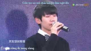[TTK][Vietsub-Kara][LIVE]Thiên thần của riêng tôi (专属天使)-Vương Nguyên TFBOYS Cover TFTeenGo SS3 ep4