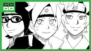 Drawing Time Lapse: Team Konohamaru (Boruto: Naruto the Movie)