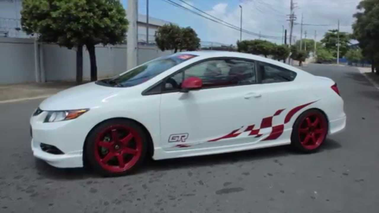 Glory Fernandez Race Car Driver With SCCA 2012 Honda Civic SI