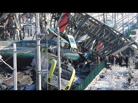 Turkish high speed train crash kills nine