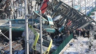 Turkey high speed train crash kills nine