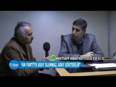 """""""AK PARTİ'YE ADAY OLUNMAZ, ADAY GÖSTERİLİR"""""""