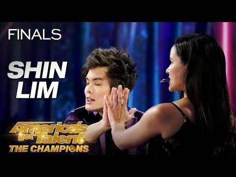 don't-blink!-shin-lim-performs-epic-magic-with-melissa-fumero---america's-got-talent:-the-champions