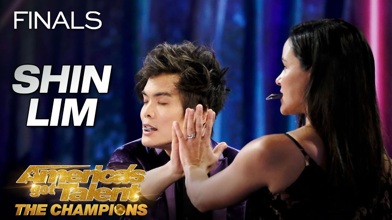 DON'T BLINK! Shin Lim Performs Epic Magic With Melissa Fumero - America's Got Talent: The