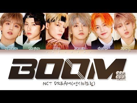 NCT DREAM (엔시티 드림) 'BOOM' (Color Coded Lyrics Eng/Rom/Han/가사)