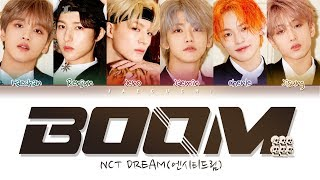 NCT DREAM (엔시티 드림) 'BOOM' (Color Coded Lyrics Eng/Rom/Han/가사)