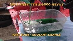2013 Street Triple R 6000 Service Part Four - Coolant Change