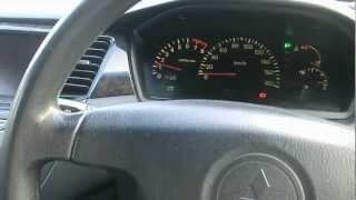 Как заводиться Mitsubishi Lancer Cedia Wagon 2000 года выпуска летом