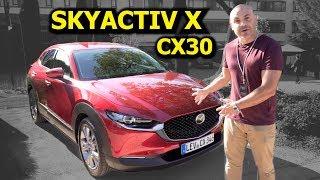 ¡CONDUZCO el NUEVO MAZDA CX-30 con SKYACTIV X! ¿Es el motor revolucionario que esperábamos?