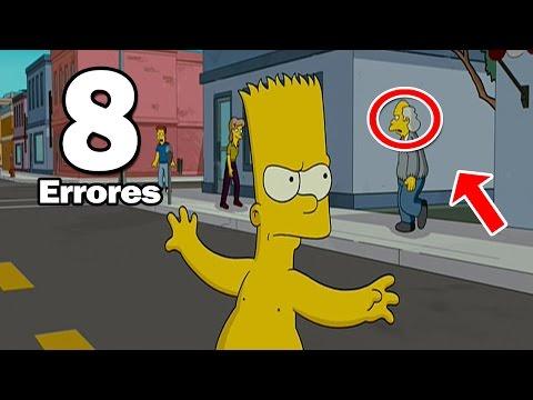 8 Errores más Increíbles de Los Simpson