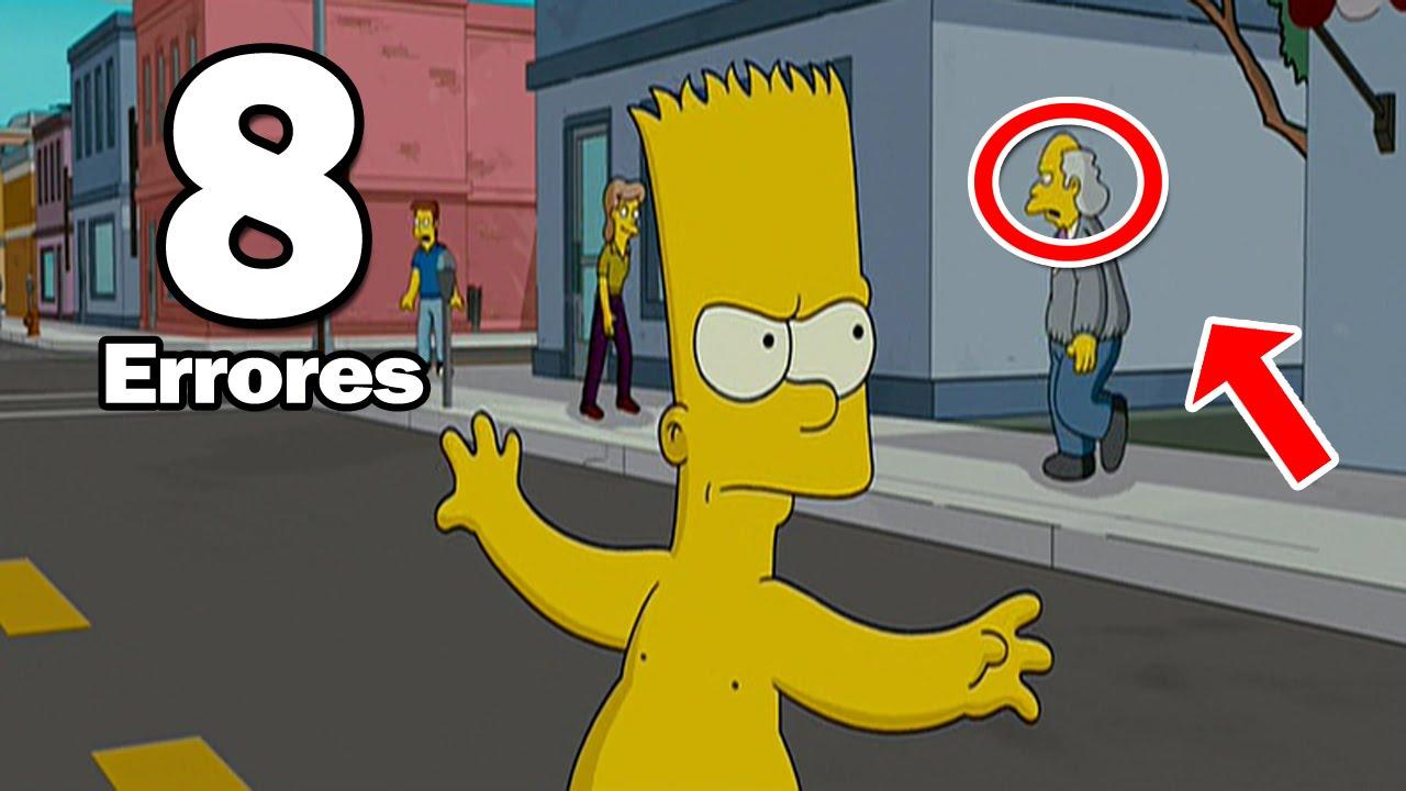 8 Errores Mas Increibles De Los Simpson La Pelicula Youtube Los Simpson La Pelicula Los Simpson Peliculas Youtube