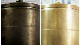 பித்தளை பாத்திரங்கள் ஜொலிக்க வேண்டுமா?  BRASS POOJA MATERIALS CLEANING TIPS | HOW TO CLEAN BRONZE?|