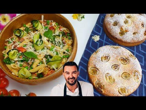 tous-en-cuisine-#28-:-je-teste-le-banana-cake-et-la-salade-de-pÂtes-au-pesto-rosso-de-cyril-lignac-!