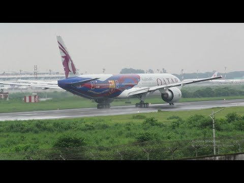 [HD] Plane Spotting @ Hazrat Shahjalal Int