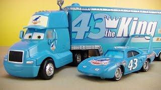 Disney Cars Toys Dinoco Gary Hauler Truck Hauler, Lightning McQueen