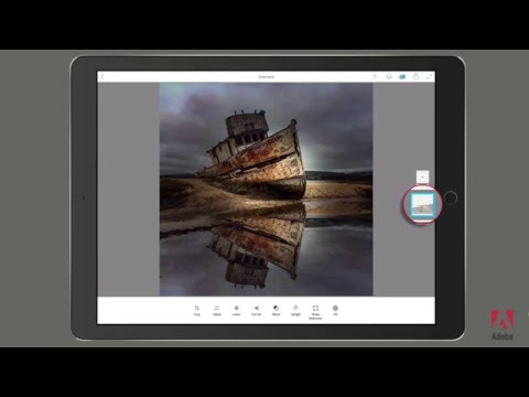 The Russell Brown Show: Creating Reflections With Lightroom Mobile & Photoshop Mix