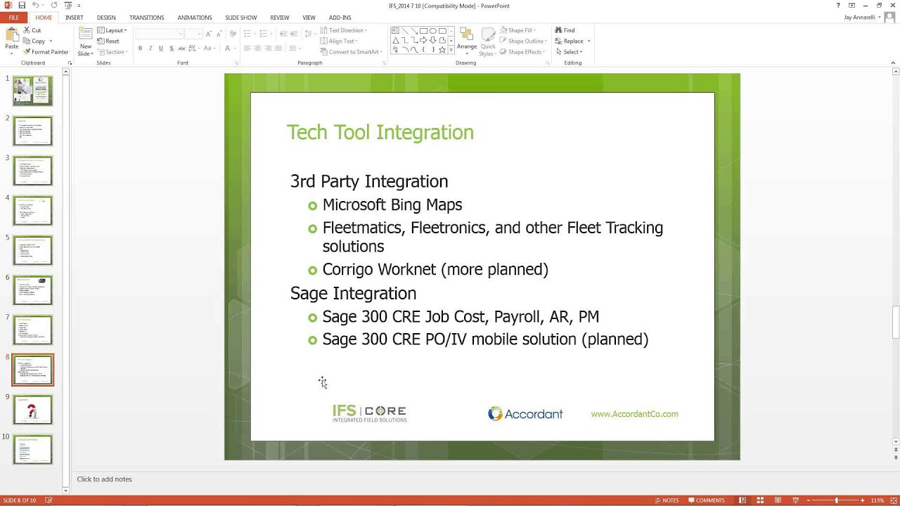 Mobilize Service Management for Sage 100 Contractor or Sage 300 CRE