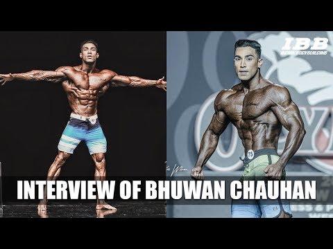 Interview of Bhuwan Chauhan at IHFF Sheru Classic Mumbai 2019