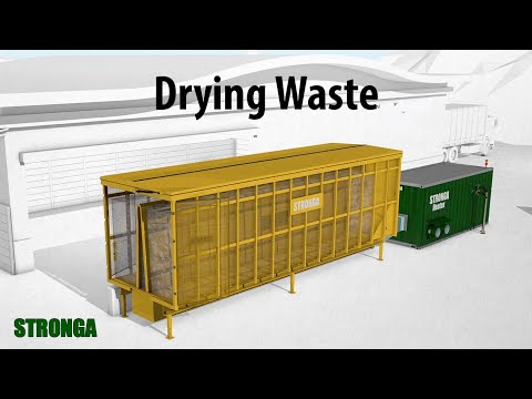 Presenting Stronga MultiDrya | Drying waste fractions | Recover Energy from Waste (EfW)